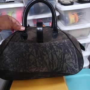 Dior Bags - CHRISTIAN DIOR DOUBLE SADDLE BOWLER BAG